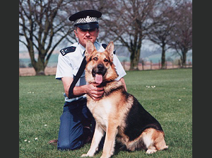 Protection dog trainer Bob Pocock