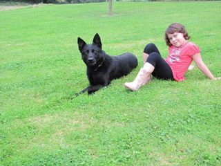 Protection dogs with children - K9 Protector keeping your families safe